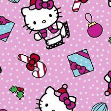 Springs Creative - Hello Kitty Present Toss - Christmas Fabric Material