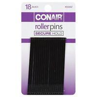 Conair Roller Pins, Black 18 ea (Pack of 2)