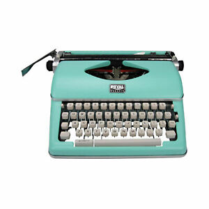 Royal Classic Portable Typewriter (mint Green) 79101T