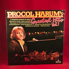 PROCOL HARUM Greatest Hits Vol.1 1978 UK Vinyl LP EXCELLENT CONDITION Best of