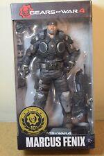 "McFarlane Toys GEARS OF WAR 4 MARCUS FENIX 7"" xbox game Action Figure BNIB RARE"