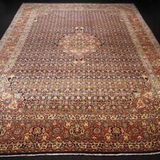 Alter Orient Teppich 358 x 272 cm Perserteppich Herati Muster Handgeknüpft Tapis