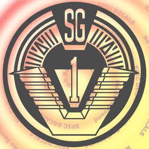 Stargate SG1 Logo Decal / Sticker Window Car Truck Laptop Computer