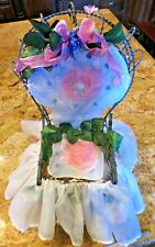 "Bunnies By The Bay Bunny Doll 18"" Chair ""Cotton Candy"" collection #66 Ltd Ed"