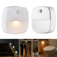 Battery Motion Sensor Light Activated LED Indoor Night Lamps Home Sticky Lights