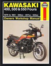 KAWASAKI GPZ550,GT550,Z400,Z500,Z550,Z550 LTD HAYNES WORKSHOP MANUAL 1979-1991
