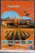 COLLECTOR TIMBRES COMME J' AIME  L' AQUITAINE 2012 10 TIMBRES AUTOCOLLANTS