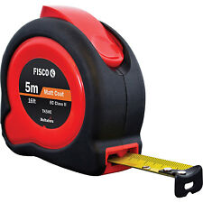 Fisco/Hultafors 5m 16ft TUF-LOK HI-Viz Metric/Imperial Tape Measure FSCTKC5ME