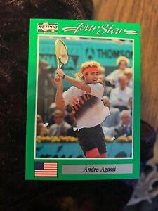 1991 NET PRO NETPRO ANDRE AGASSI ROOKIE CARD ~ #3