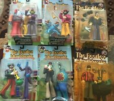 The Beatles Yellow Submarine Sgt. Peppers McFarlane Toys Figure Set of 4 plus 2