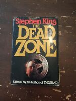 1979 The Dead Zone by Stephen King Hardcover With Dust Jacket