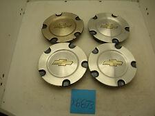 Set 4 OEM 04 05 06 07 Chevy Trailblazer Wheel Center Caps Hubcaps 9595110