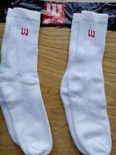 3 Pack Hanes USA Childrens Boys Girls White Athletic Sports Socks UK Size:3-7