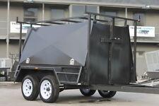 8x5 Heavy Duty Tandem Tradesman Trailer Full Height Doors - *NEW TYRES*