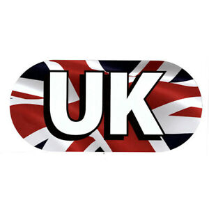 Union Jack Magnetic UK Vehicle Plate Travel Driving Abroad Country Identity