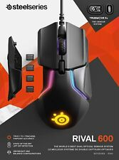SteelSeries Rival 600 Gaming Mouse RGB Lighting & Optical Sensor Weight System
