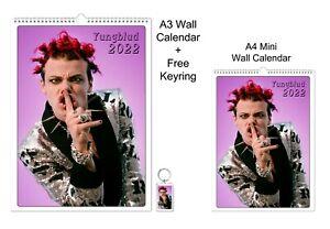 Yungblud Dominic Richard Harrison  2022 A3 A4 Wall Office Calendar + Key Ring