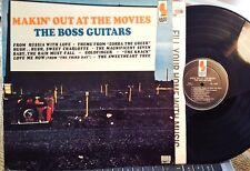 "BOSS GUITARS LP "" MAKIN' OUT AT THE MOVIES "" KAPP, 1965 MONO, NM - Movie Themes"