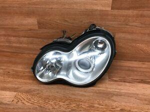 MERCEDES W203 C230 FRONT LEFT DRIVER SIDE XENON HEADLIGHT HEADLAMP OEM (03_07)