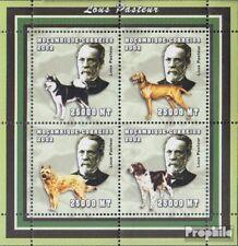 Mosambik 2524-2527 Velletje postfris MNH 2002 Persoonlijkheden