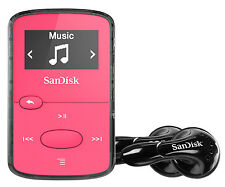 Sandisk Sansa Clip Jam reproductor 8GB MP3 con radio FM, SDMX26-008G, Rosa