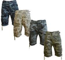 Camouflage Bermudas Regular Shorts for Men