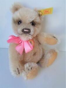 Steiff 1953 Antique Reproduction JACKIE TEDDY BEAR Pink Mohair 029929