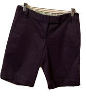 J. Crew City Fit Bermuda Stretch Chino Shorts Size 4