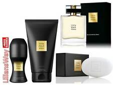 Avon Little Black Dress 4 Piece Set~EDP 50ml/Body Lotion/Bar Soap/Roll On~SALE