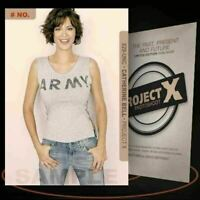 Catherine Bell [ # 829-UNC ] PROJECT X Numbered cards / Limited Edition