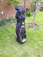Hippo Cart Bag 14 Way Divider Black & Grey All Zips Working large capacity