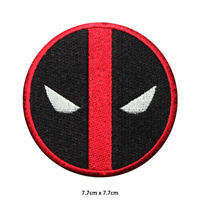 Dead pool Super Hero Movie Comic Embroidered Patch Iron on Sew On Badge
