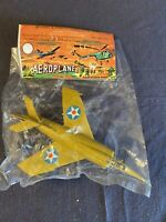 Vintage Plastic Toy Aeroplane Sealed Nadel & Sons Toy Corp.