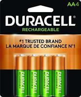 Duracell Rechargeable AA Batteries 4 Count