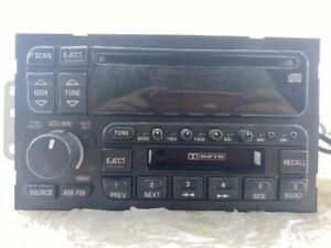 Audio Equipment Radio Opt UP0 Fits 96-05 PARK AVENUE 1249826