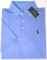 NEW $89 Polo Ralph Lauren Blue Short Sleeve Classic Fit Performance Shirt NWT