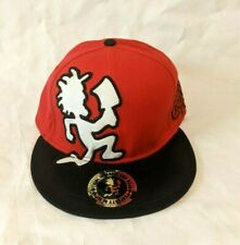 NEW 2013 Insane Clown Posse Hatchet Man Red and Black Fitted Hat Med or Large