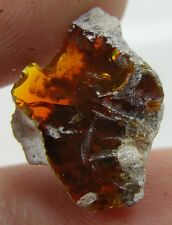5.25ct Mexico 100%  Natural Rough Fire Opal Matrix Crystal Specimen 1.05g 17mm