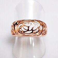 Exklusiver Rosen Ornamente Designer Ring II vergoldet 18,8 mm