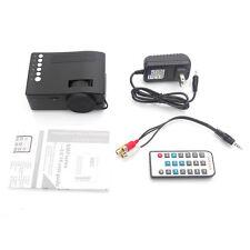 New UNIC HD 320 x 180 3D LED LCD Projector Multimedia Player Pico VGA USB SD