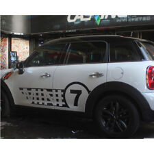 For Mini Cooper R60 7 MINI Rocker Panels Stripes Body Decor Decals Graphics
