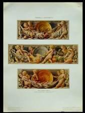 ENFANTS, PUTTI -1910- PHOTOLITHOGRAPHIE, ANGELO COMOLLI