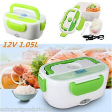 1.05L Portable Car 12V Electric Heated Lunch Box Heating Food Warmer Container