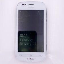 Nokia Lumia 710 T-Mobile Smartphone - White - GOOD + Chrger