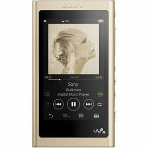 SONY NW-A45  Walkman A Series 16GB Pale Gold 2018 Working  JAPAN NEW