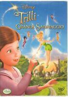 Walt Disney DVD: TRILLI E IL GRANDE SALVATAGGIO Film ITA PAL Editoriale