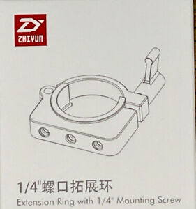 """Zhiyun Extension Ring with 1/4"""" Mounting Screw Model TZ001"""