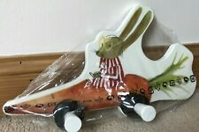 IKEA -- COAT HANGER RABBIT IN A CARROT CAR