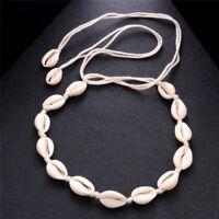 BOHO Beach Bohemian Sea Shell Pendant Chain Choker Necklace Fashion Jewelry Lw