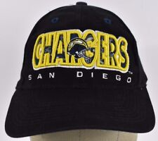 Black San Diego Chargers Team Embroidered baseball hat cap Adjustable Snapback